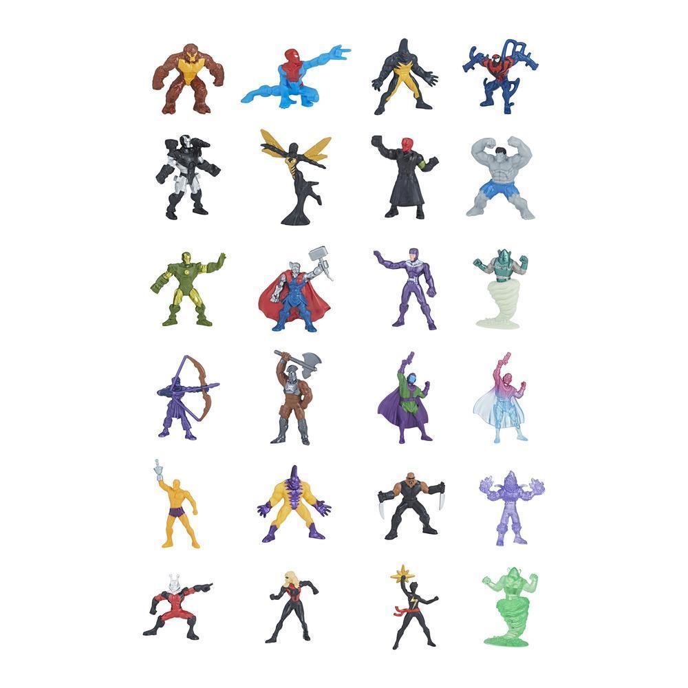 Marvel 500 - Microfigurines en sacs surprises, série 14