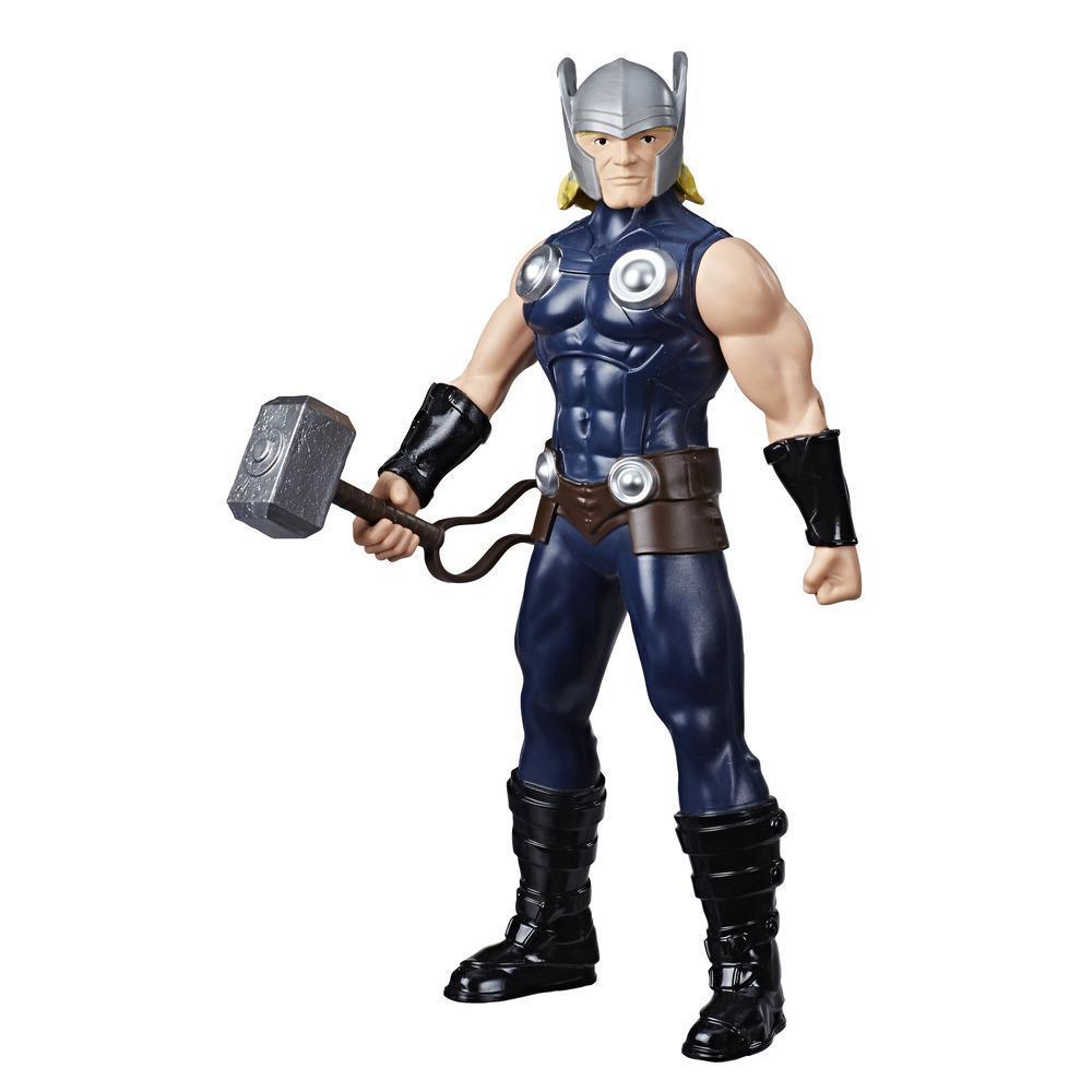 Marvel Avengers, figurine Thor de 24 cm, inspirée des bandes dessinées, pour enfants, à partir de 4 ans