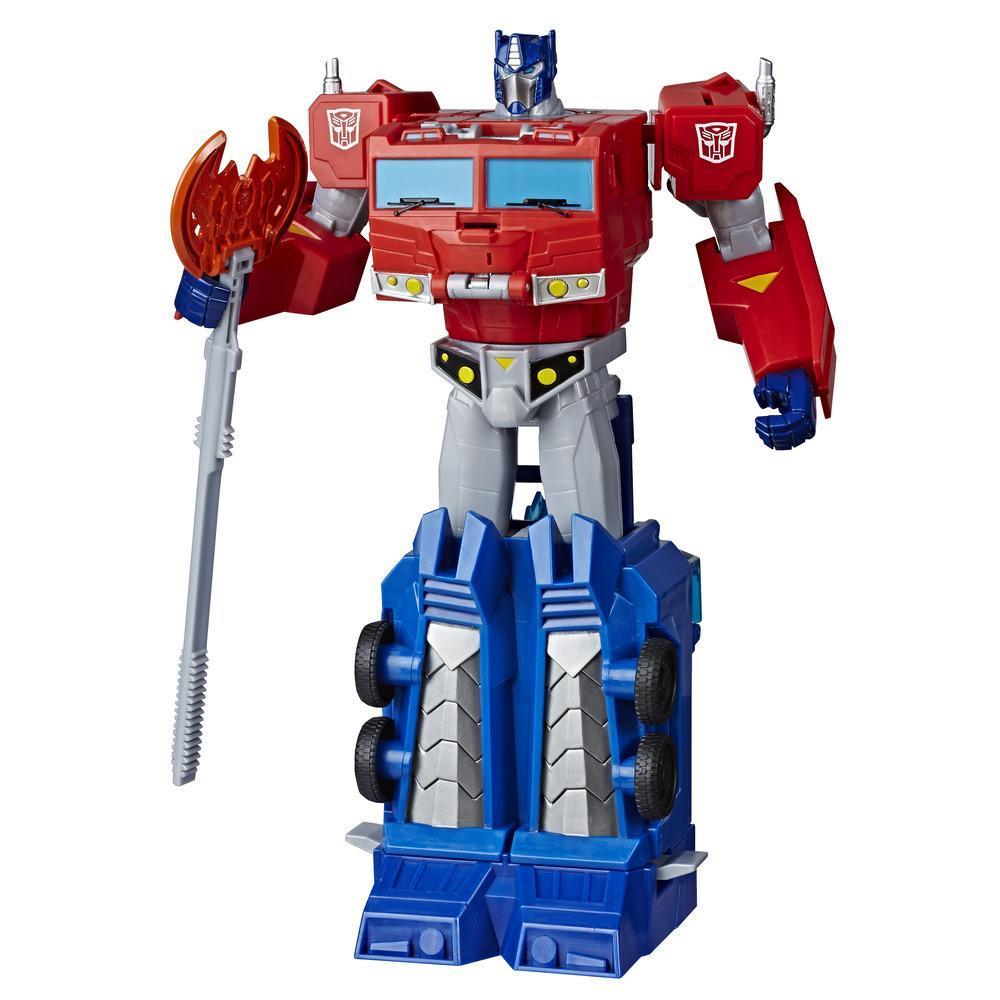 Jouets Transformers Cyberverse, figurine Optimus Prime, classe ultime