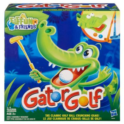 ELEFUN & FRIENDS Jeu GATOR GOLF