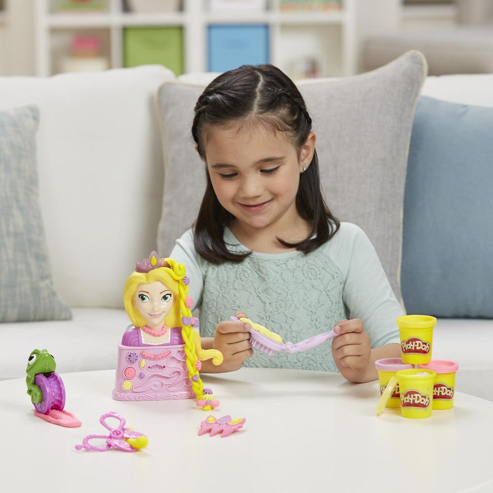 Play-Doh Disney Princess - Coiffures royales avec Raiponce