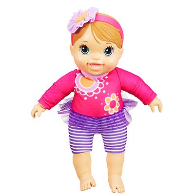 Baby Alive - Poupée Bébé joue et rit