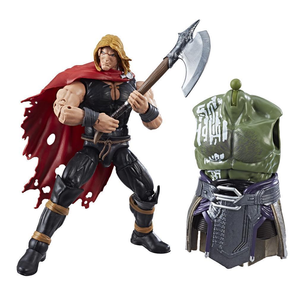 Marvel Thor Legends Series - Figurine Guerriers des neuf mondes (Odinson) de 15 cm