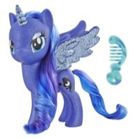 My Little Pony  Jouet Princesse Luna - Figurine scintillante de 15 cm pour enfants âgés de 3 ans et plus