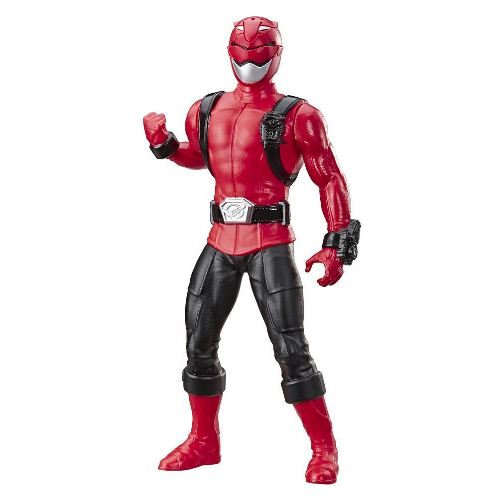 Power Rangers Beast Morphers, Figurine Ranger rouge de 24 cm, pour enfants à partir de 4 ans