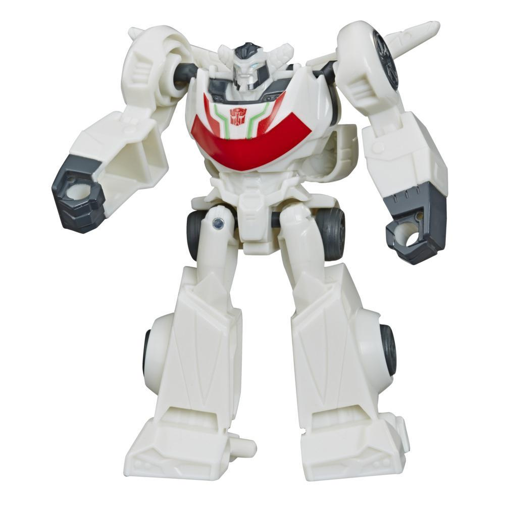 Transformers Bumblebee Cyberverse Adventures, figurine Action Attackers Wheeljack de 9,5 cm, classe Éclaireur, avec attaque Gravity Cannon