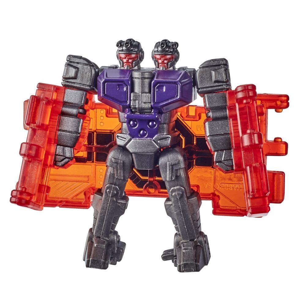 Transformers Generations War for Cybertron : Earthrise, figurine Decepticon Doublecrosser WFC-E39 de 3,5 cm, dès 8 ans
