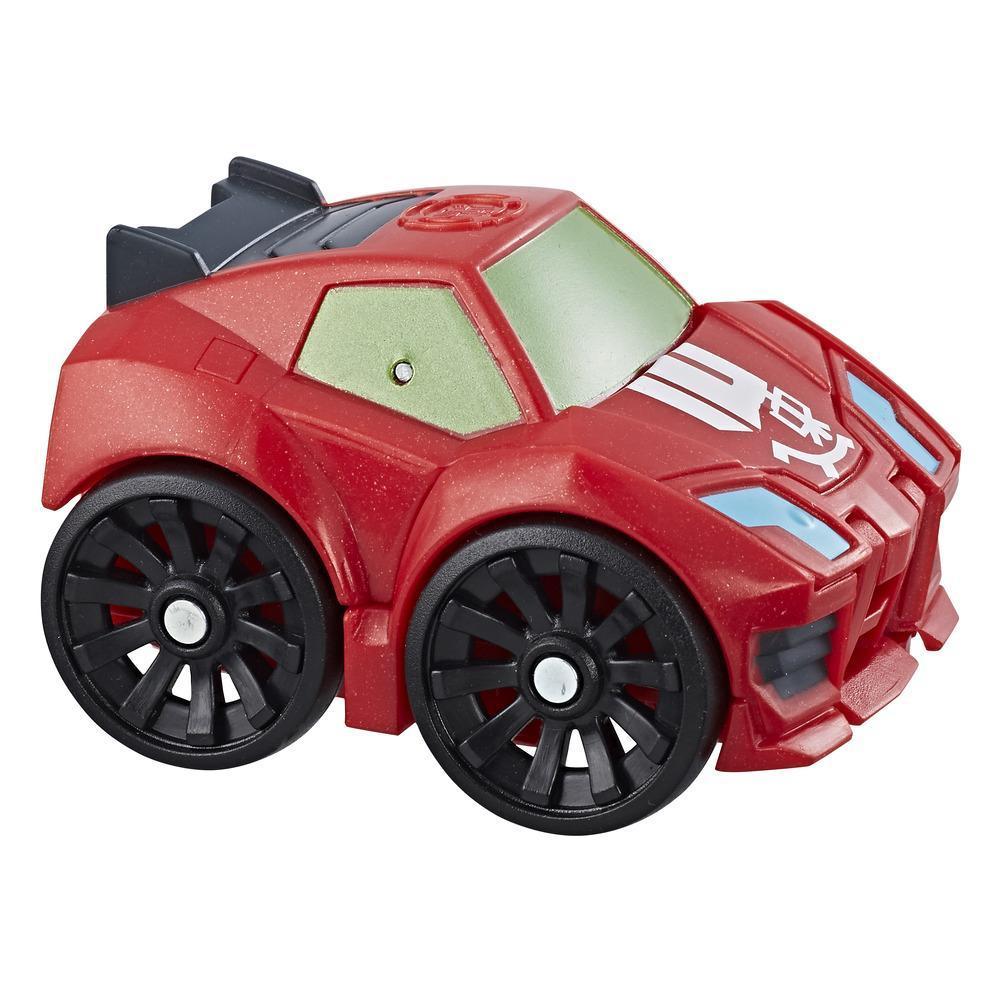 Playskool Heroes Transformers Rescue Bots Flip Racers - Sideswipe