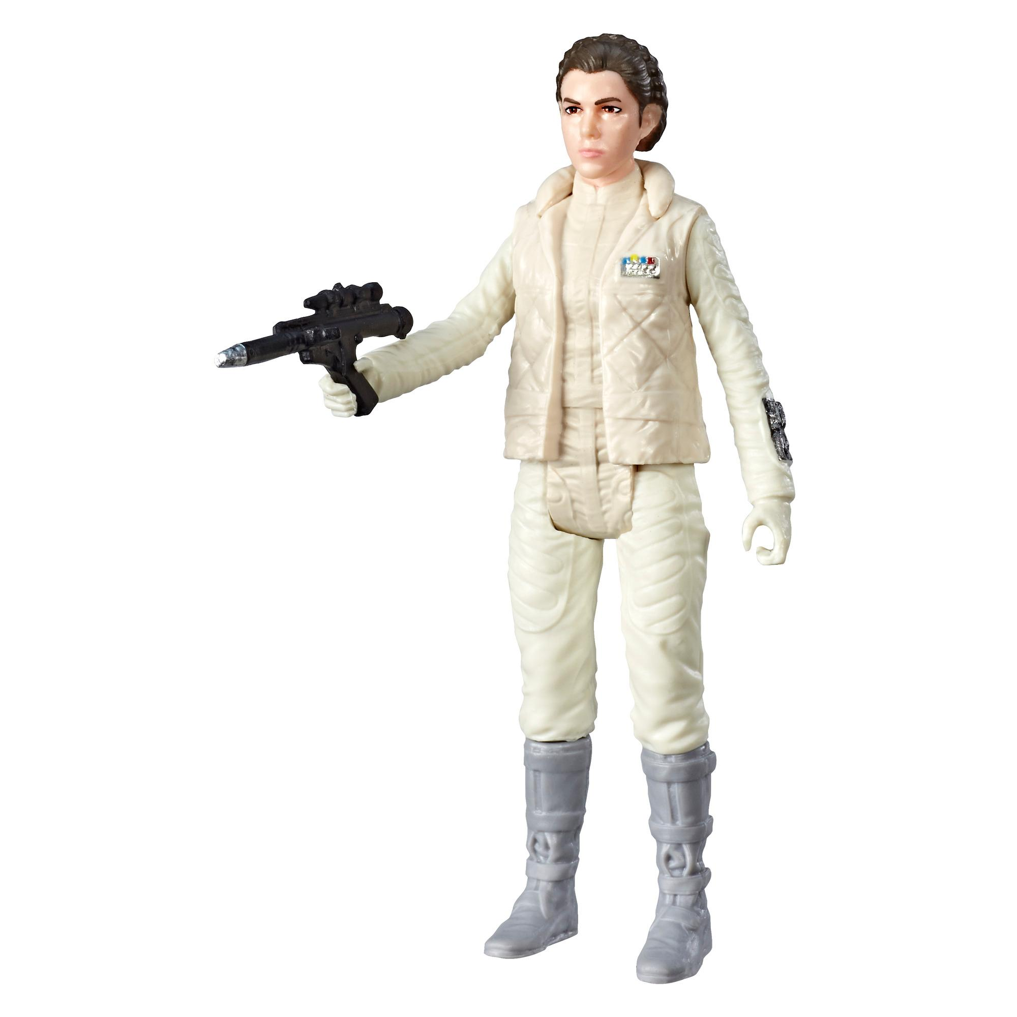 Star Wars Galaxy of Adventures - Figurine Princess Leia et mini bande dessinée