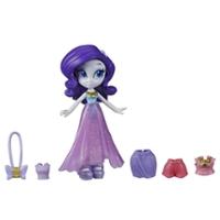My Little Pony Equestria Girls, mini-poupée Rarity de 7,5 cm en potion, de la collection Brigade de la mode, vendue avec tenue et accessoires surprises