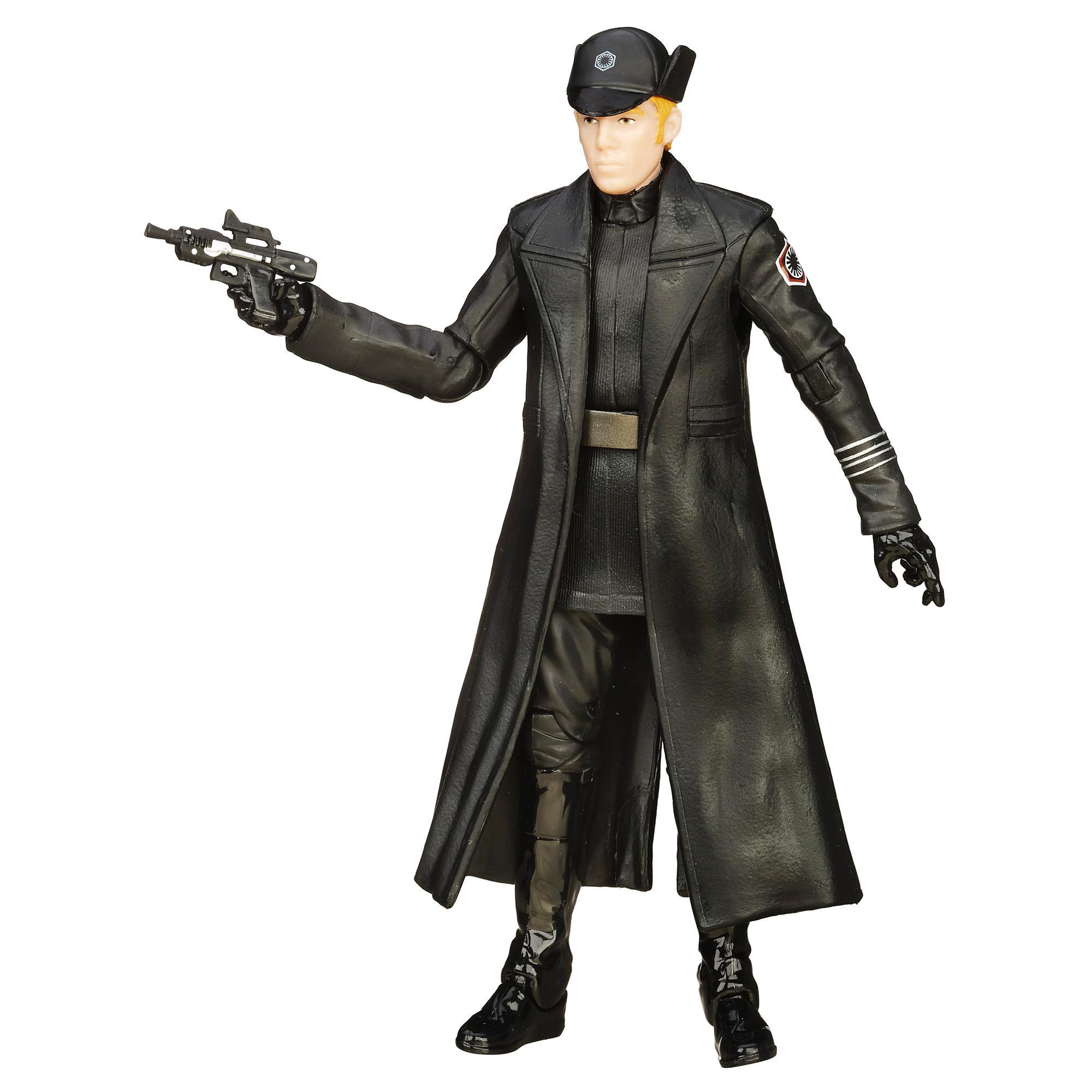 General Hux Star Wars figurine Deluxe Black series 15 cm de Hasbro