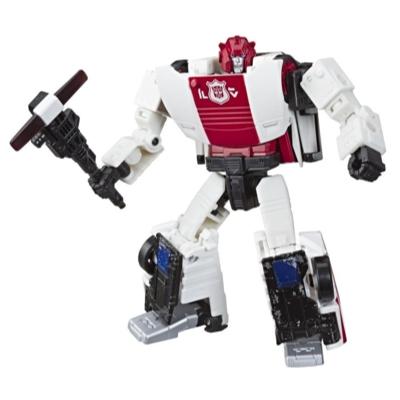 Jouets Transformers Generations War for Cybertron, figurine Weaponizer de luxe WFC-S35 Red Alert, gamme Siege, pour adultes et enfants de 8 ans et plus, 14 cm Product