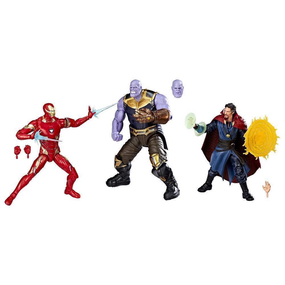 Marvel Studios: The First Ten Years - Avengers: La guerre de l'Infini - Trio de figurines