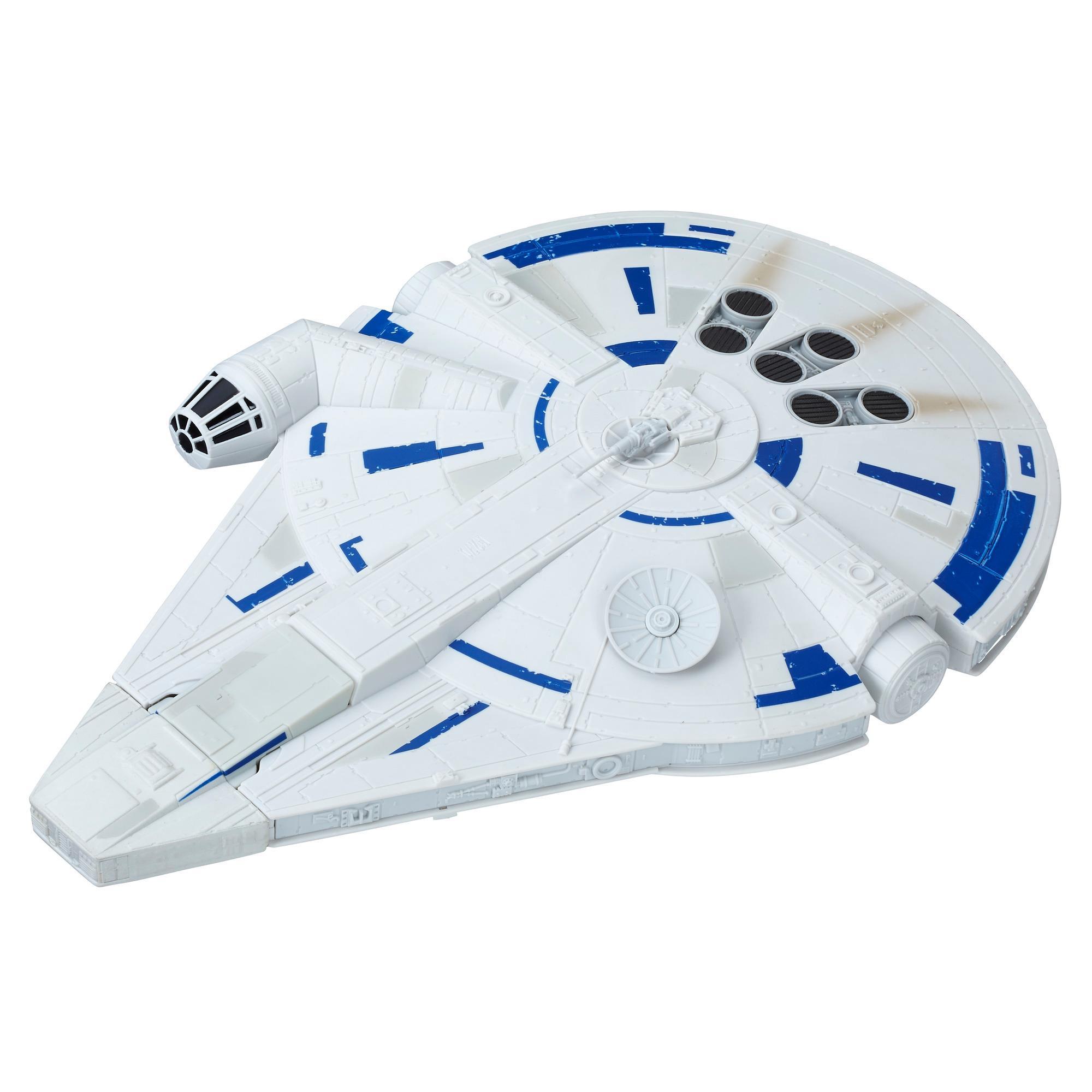 Star Wars Force Link 2.0 - Faucon Millenium avec vaisseau de secours