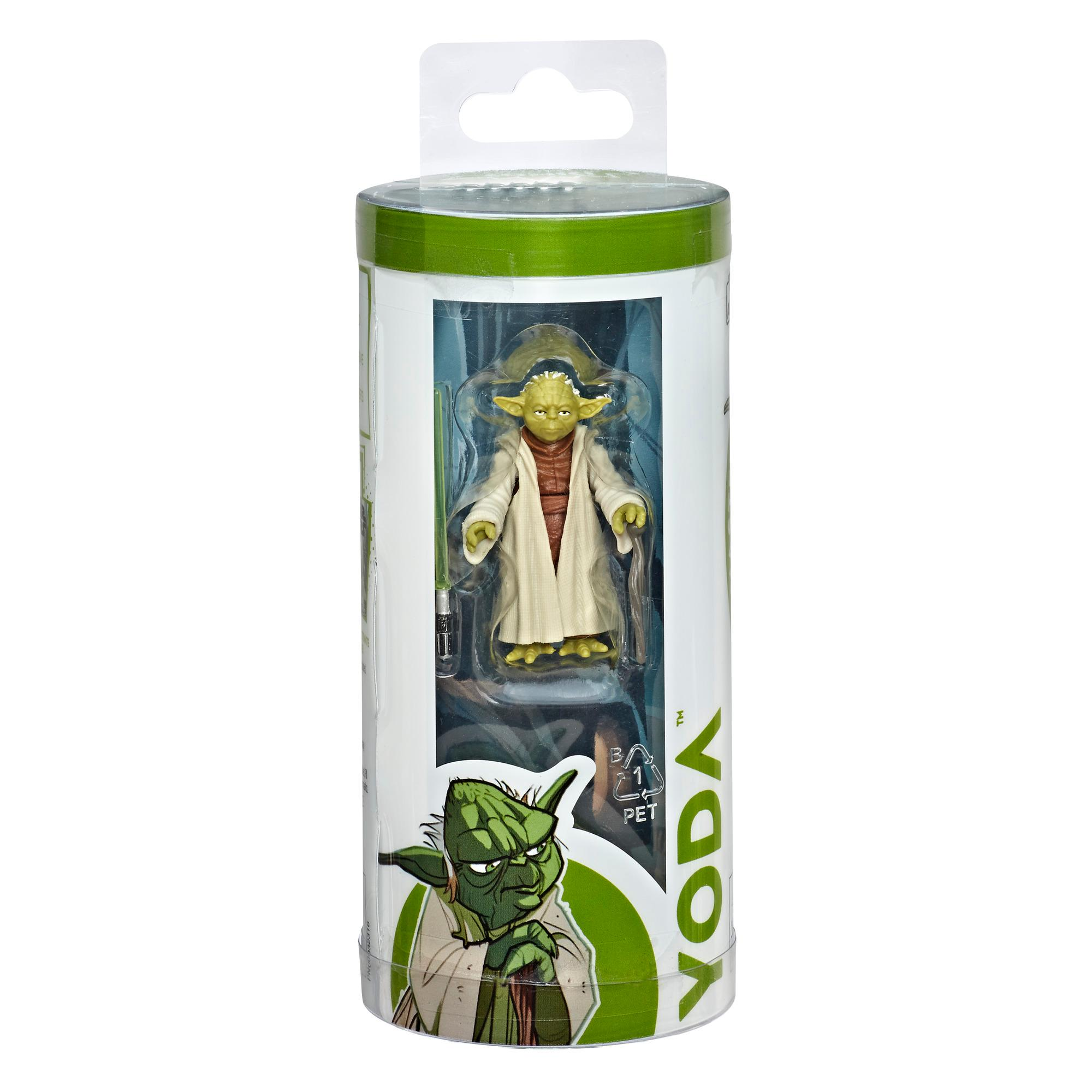 Star Wars Galaxy of Adventures - Figurine Yoda et mini bande dessinée