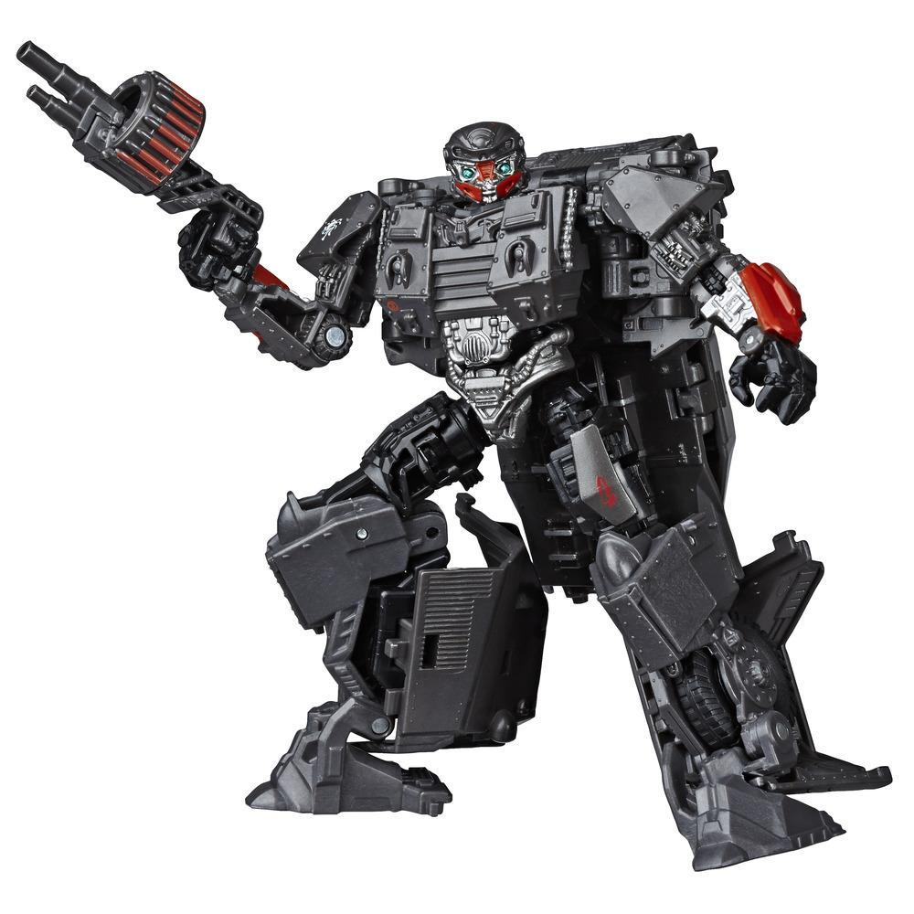 Jouets Transformers Studio Series 50, figurine Autobot Hot Rod WWII du film Transformers : Le dernier chevalier, classe Deluxe, 8 ans et plus