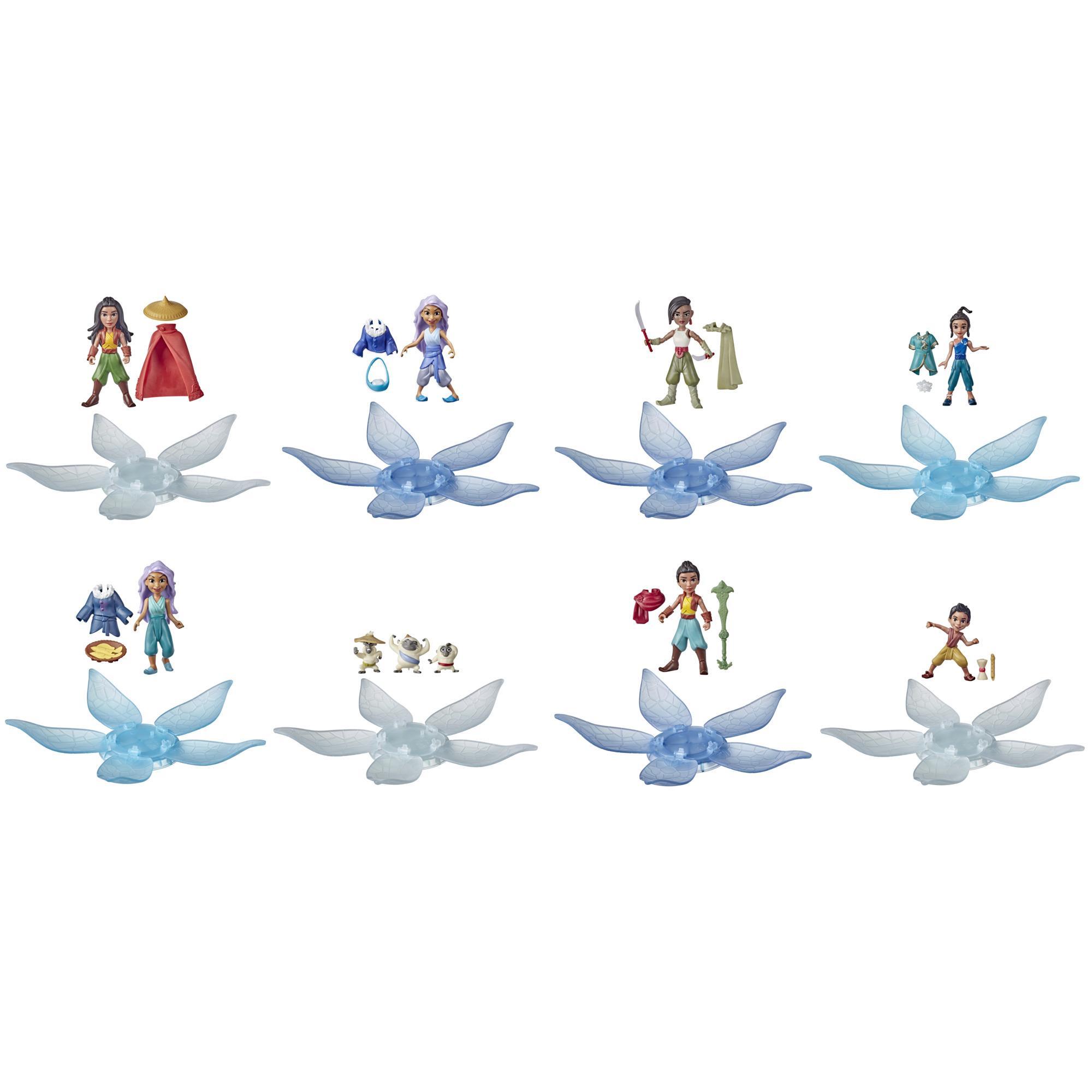 Disney, Raya and the Last Dragon, boîte surprise avec poupée et 2accessoires, jouet pour enfants, dès 3ans