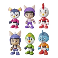 Top Wing - Ensemble de 6 personnages à collectionner