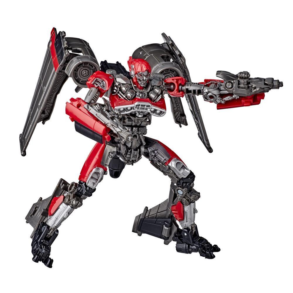 Transformers Studio Series 59, figurine Shatter, 11 cm, de Bumblebee, classe Deluxe, pour enfants, à partir de 8 ans