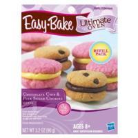 Mélanges à biscuits aux brisures de chocolat et à biscuits au sucre rose