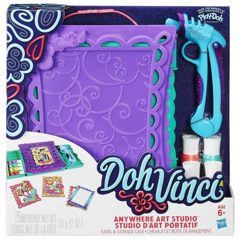 DohVinci - Studio d'art portatif - Chevalet et boîte de rangement