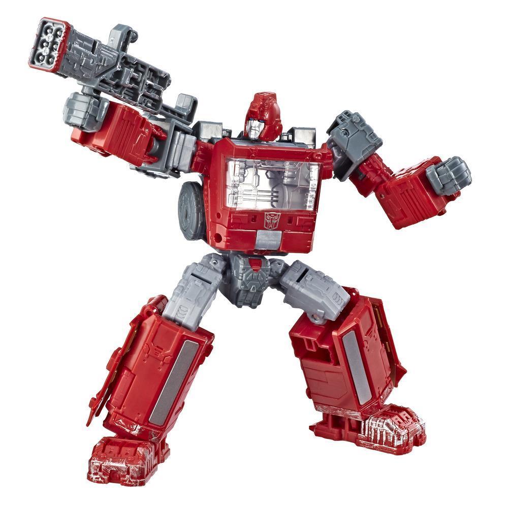 Jouets Transformers Generations War for Cybertron, figurine Ironhide WFC-S21 de luxe, gamme Siege, pour adultes et enfants de 8 ans et plus, 14 cm