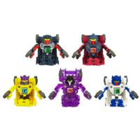 TRANSFORMERS BOT SHOTS - Assortiment d'ensembles de combat de 5 figurines