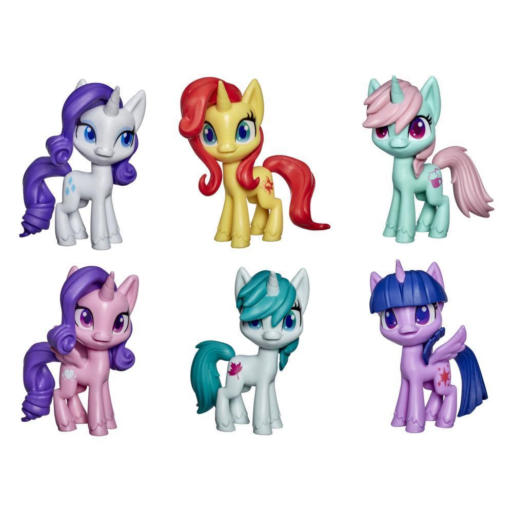 My Little Pony, figurines de poneys de 7,5 cm, jouets pour enfants, dès 3 ans
