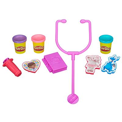 Play-Doh - Trousse de docteur Docteur La Peluche