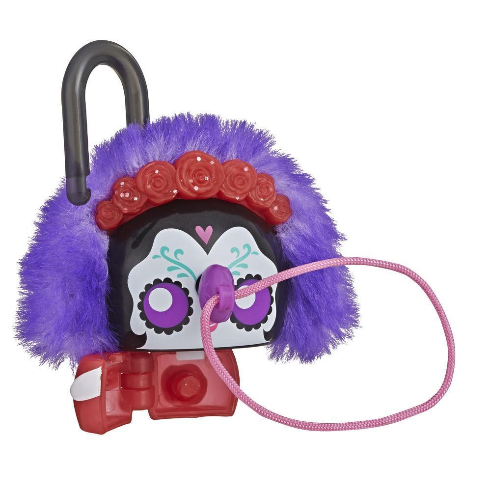 Lock Stars - Figurine de cadenas de luxe à thématique festive avec accessoires, Série 3 (Les combinaisons peuvent varier.)