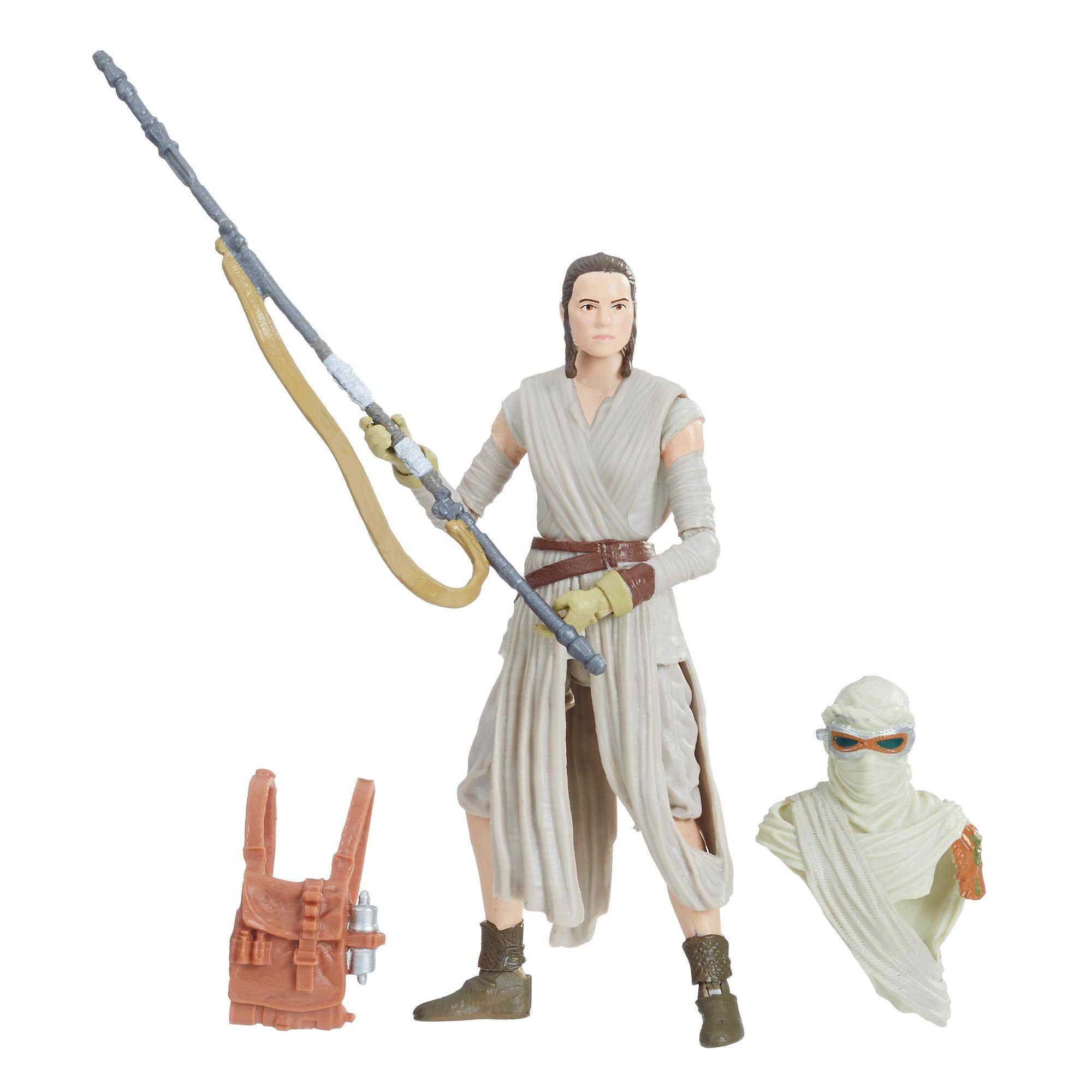Star Wars - Collection Vintage - Figurine Rey (Jakku) de 9,5 cm