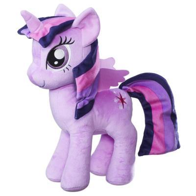 My Little Pony Les amies, c'est magique - Douce peluche Princesse Twilight Sparkle