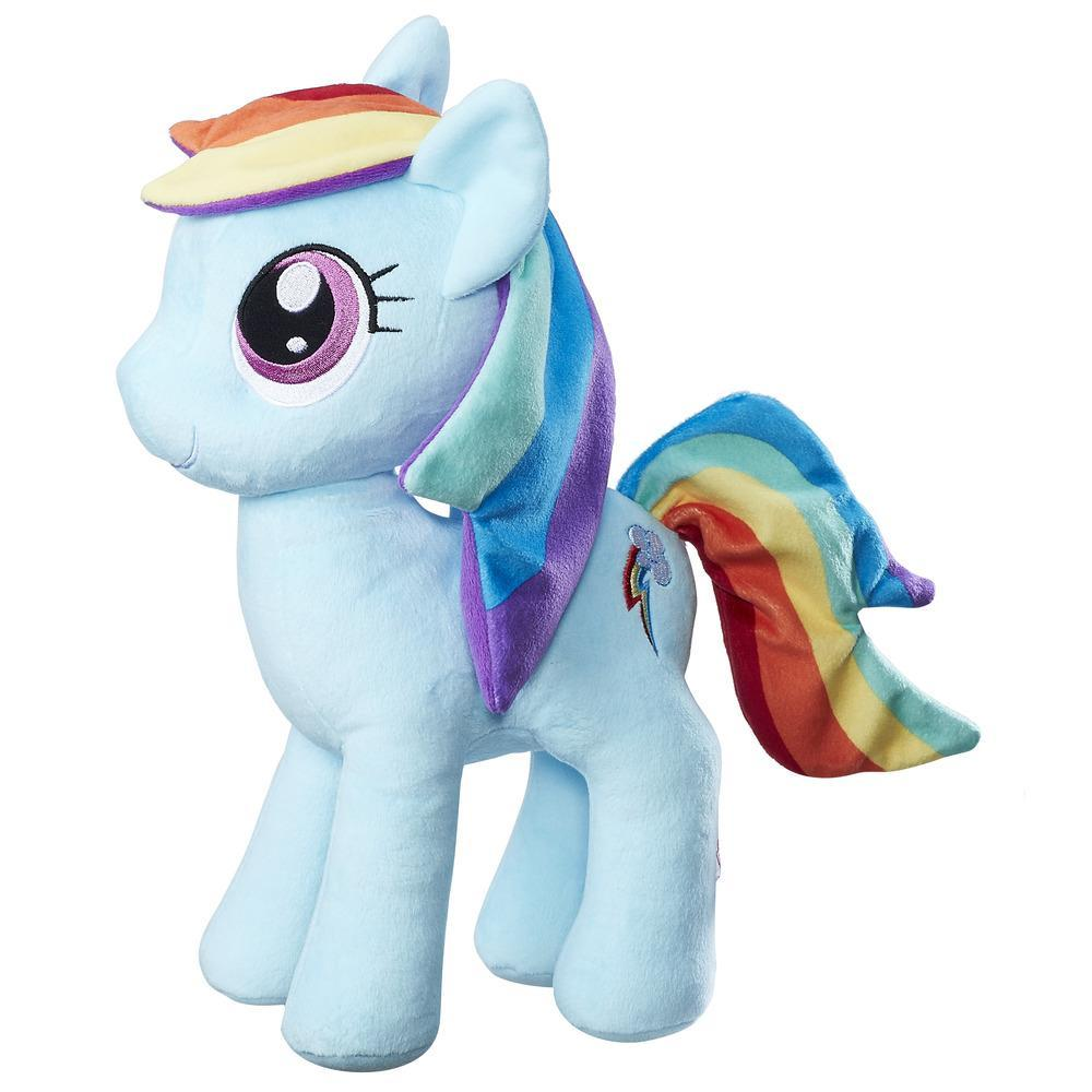 My Little Pony Les amies, c'est magique - Douce peluche Rainbow Dash