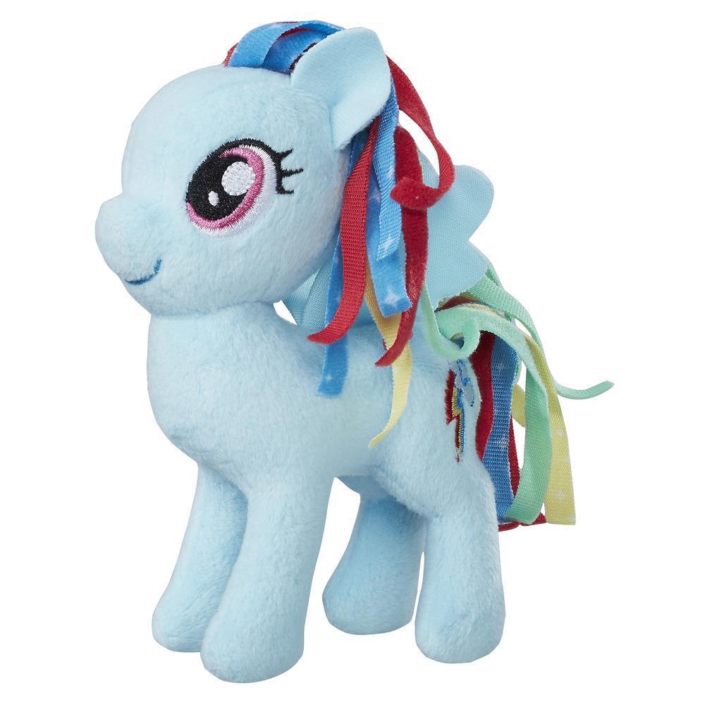 My Little Pony Les amies, c'est magique - Petite peluche Rainbow Dash