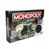 Jeu familial Monopoly Banque électronique à commandes vocales