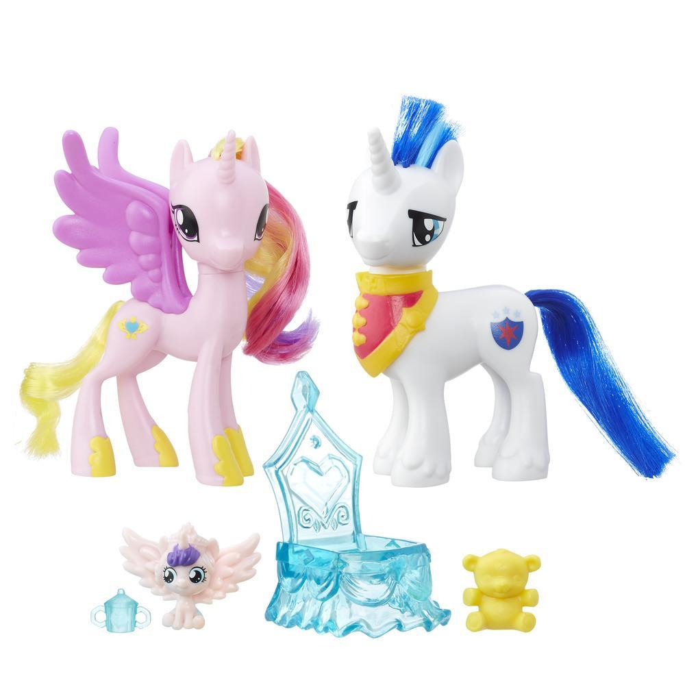 My Little Pony - Princesse Cadance et Shining Armor Portrait de famille