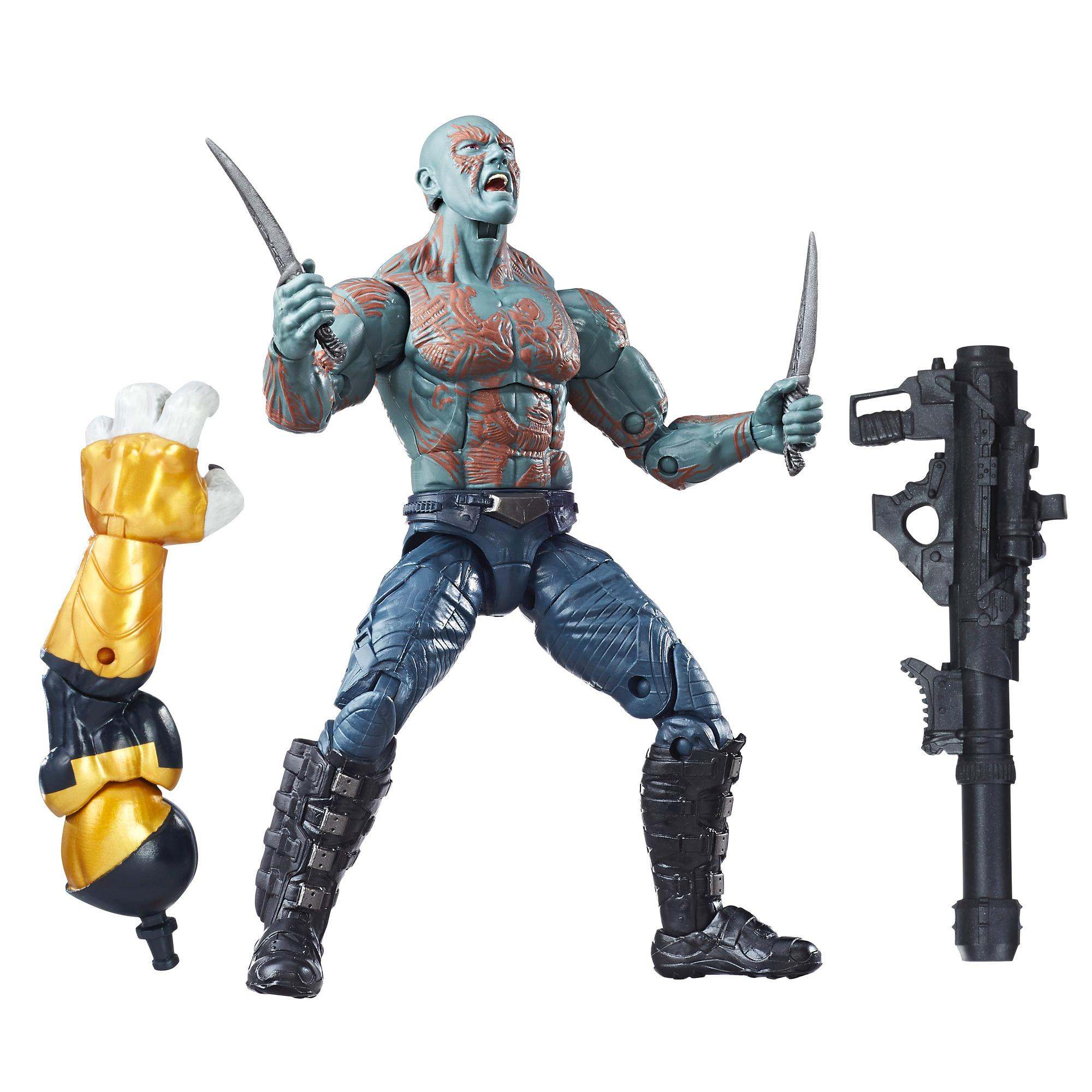 Marvel Guardians of the Galaxy Legends Series - Figurine Drax de 15 cm