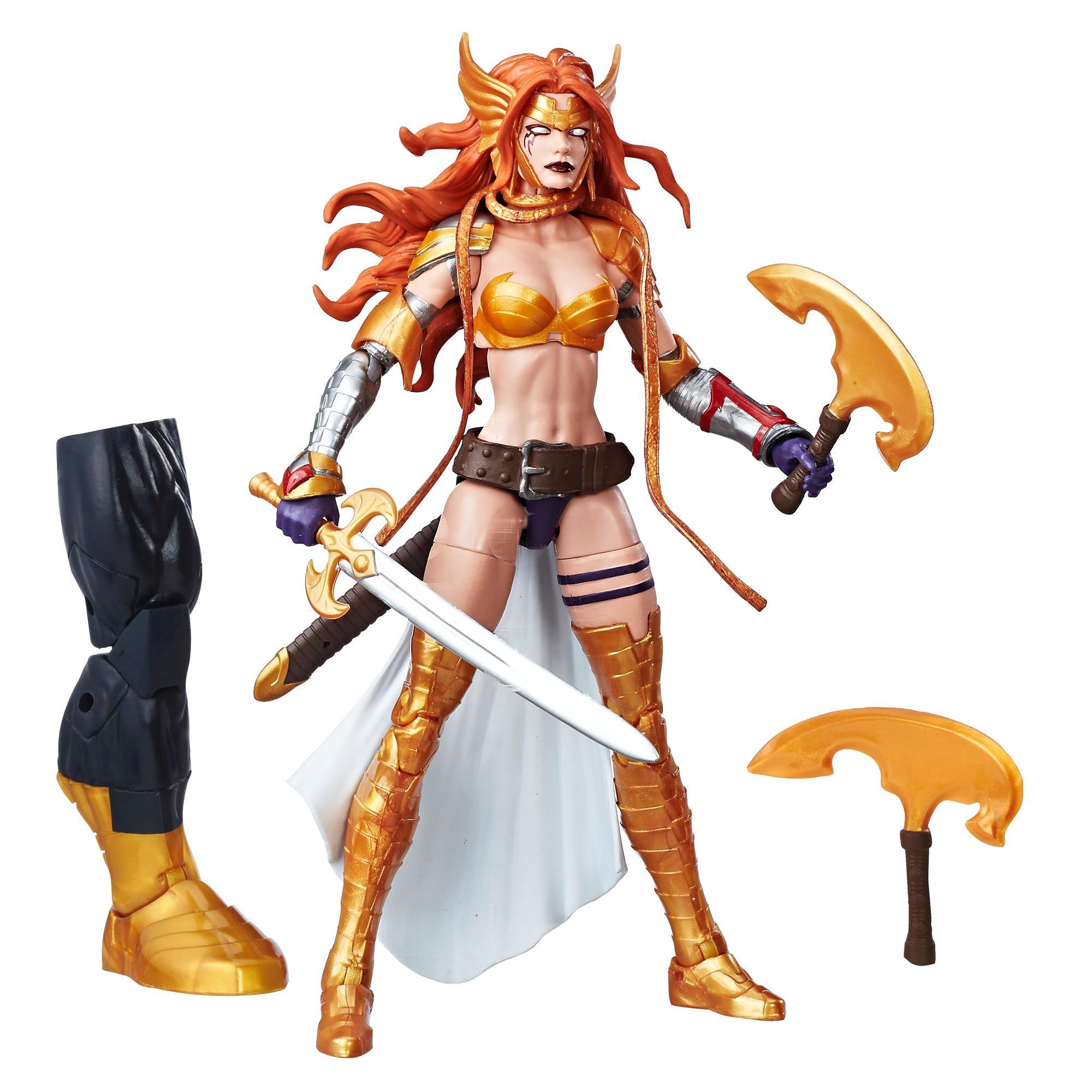 Marvel Guardians of the Galaxy Legends Series - Figurine Marvel's Angela de 15 cm