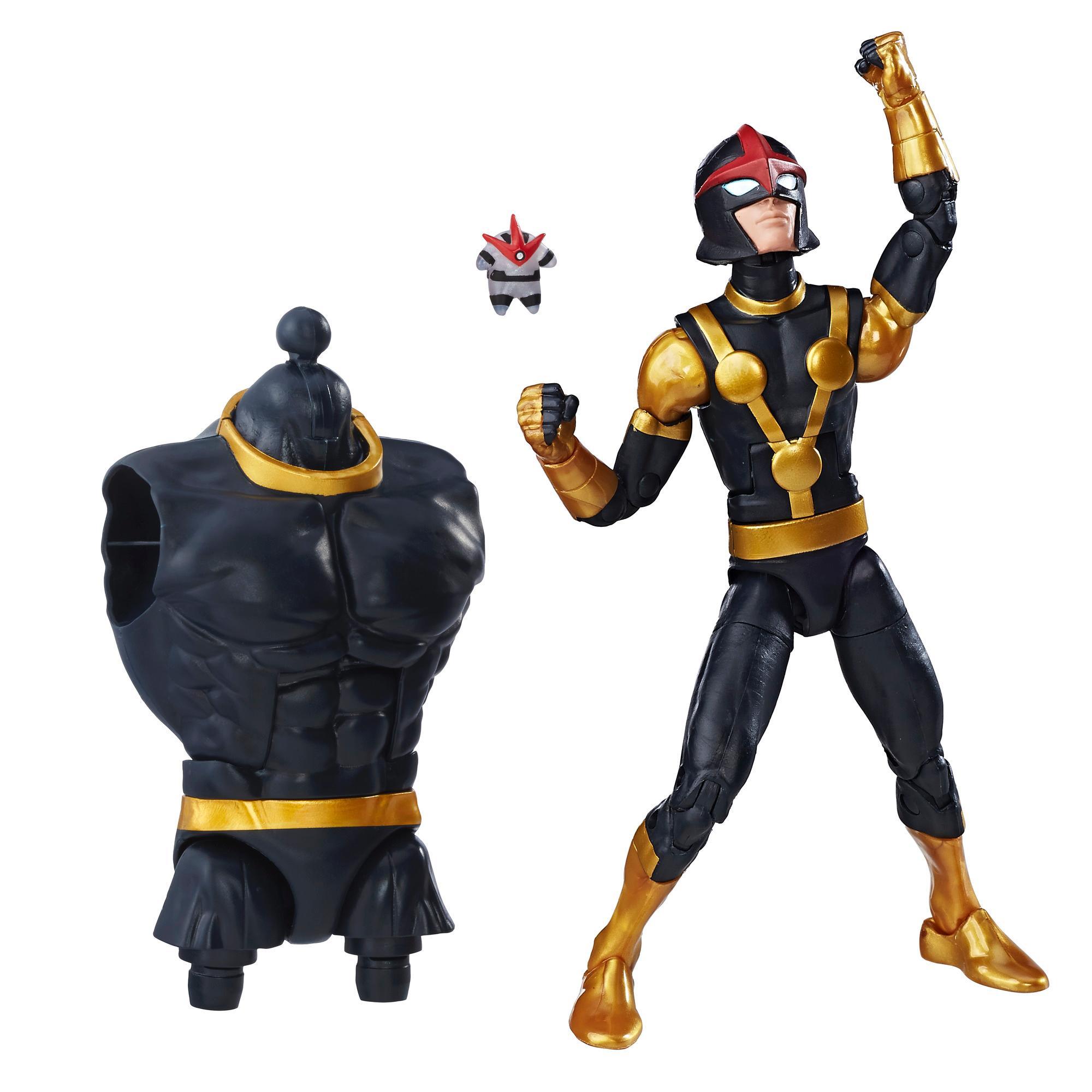 Marvel Guardians of the Galaxy Legends Series - Figurine Marvel's Kid Nova de 15 cm