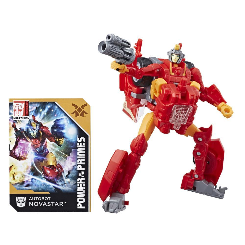 Transformers: Generations Power of the Primes - Autobot Novastar de classe de luxe