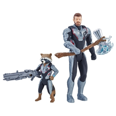 Marvel Avengers : Phase finale Duo de personnages Thor et Rocket Raccoon