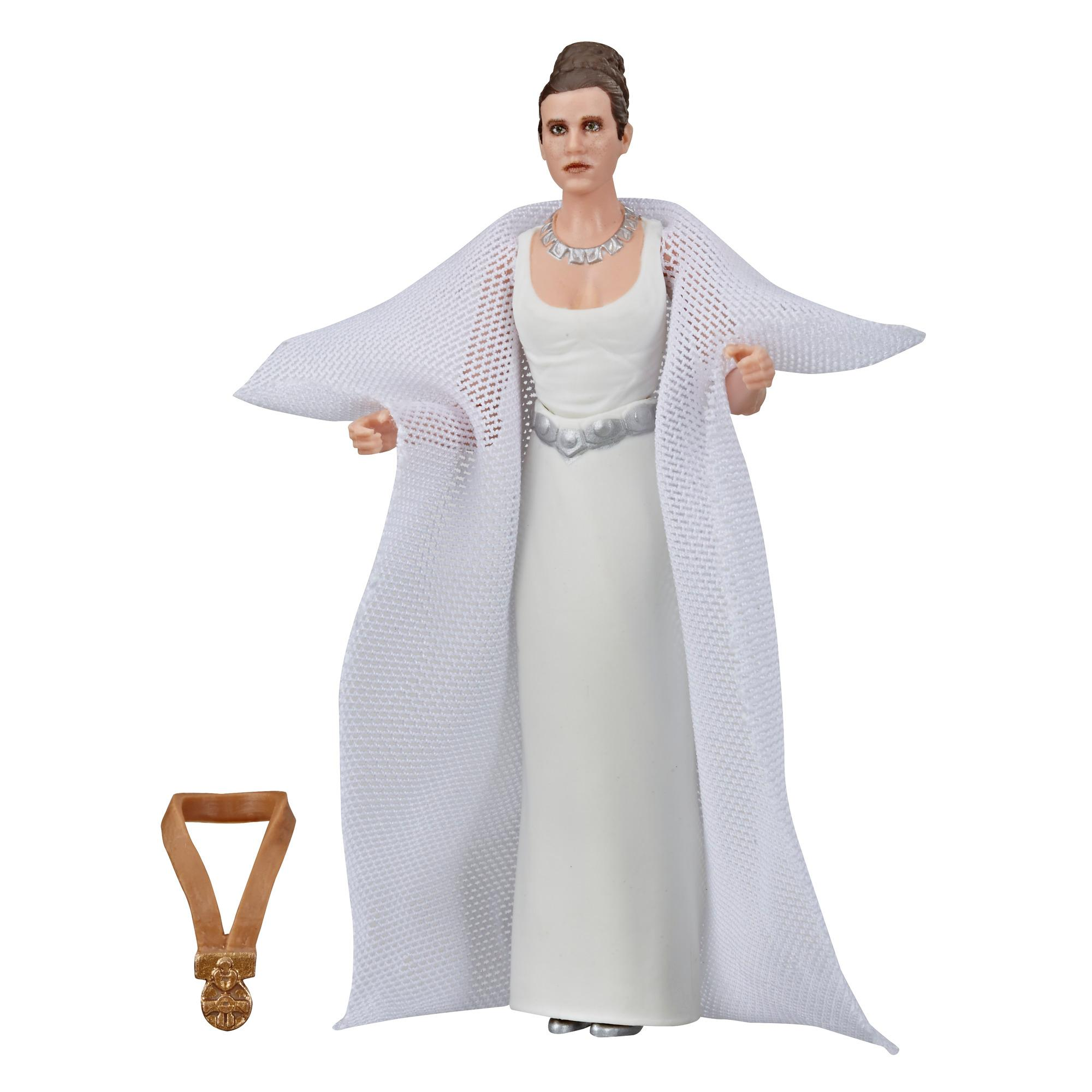 Star Wars The Vintage Collection, Star Wars : Un nouvel espoir, figurine de la princesse Leia Organa (Yavin) de 9,5 cm