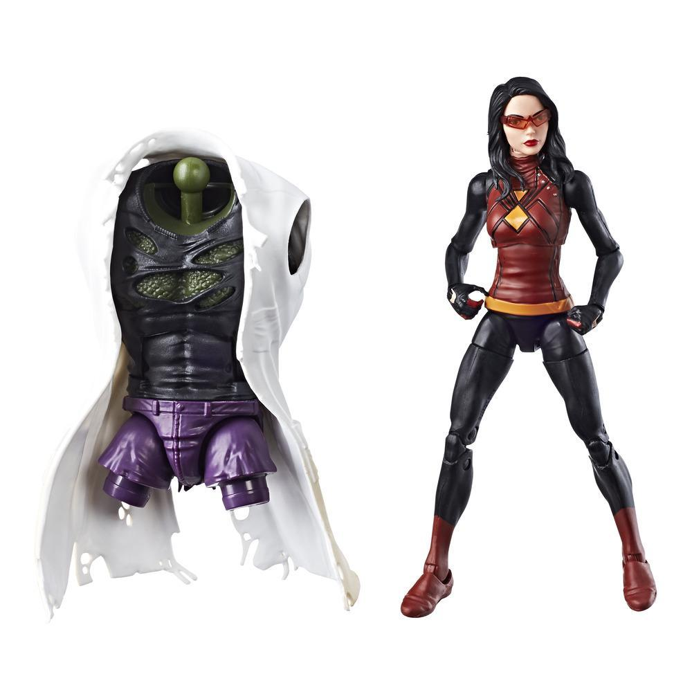 Spider-Man série Legends - Figurine Spider-Woman de 15 cm