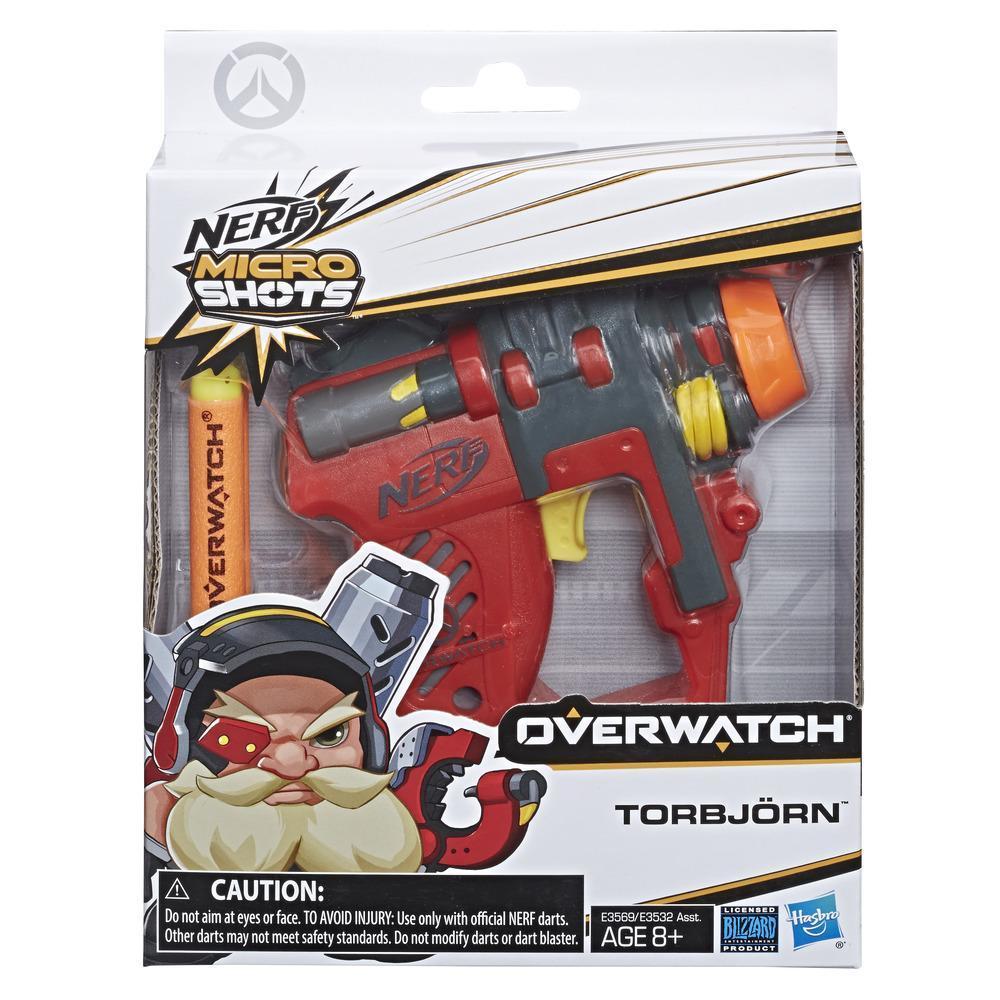 Nerf MicroShots Overwatch - Minifoudroyeur Torbjorn