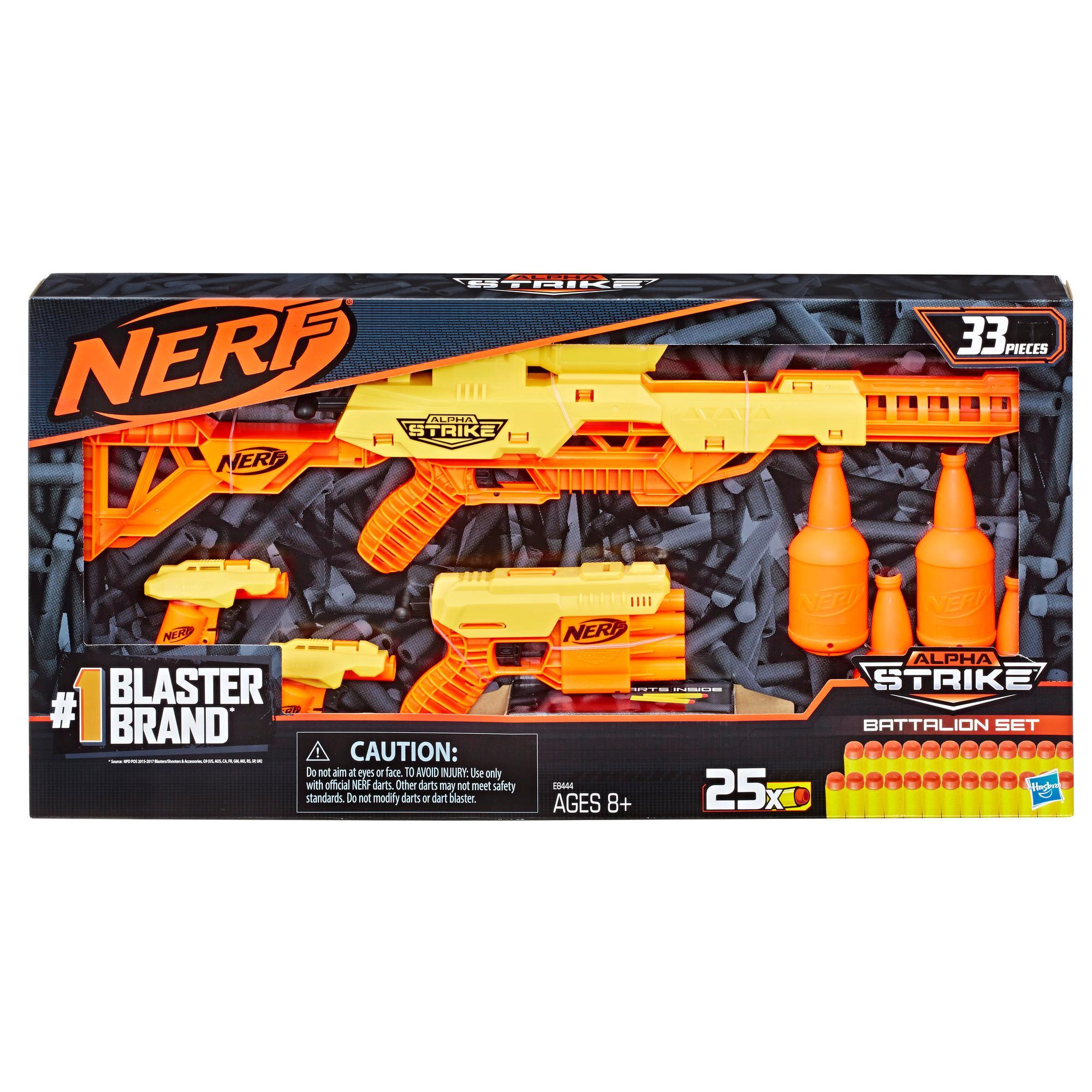 Nerf Apha Strike - Kit de bataillon