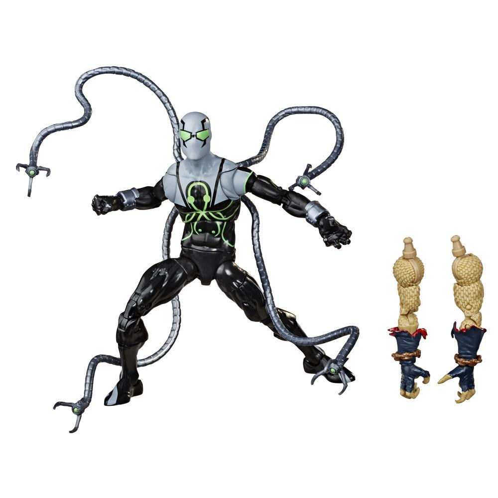Hasbro Marvel Legends Series, figurine articulée Superior Octopus de 15 cm à collectionner avec pièces Build-A-Figure