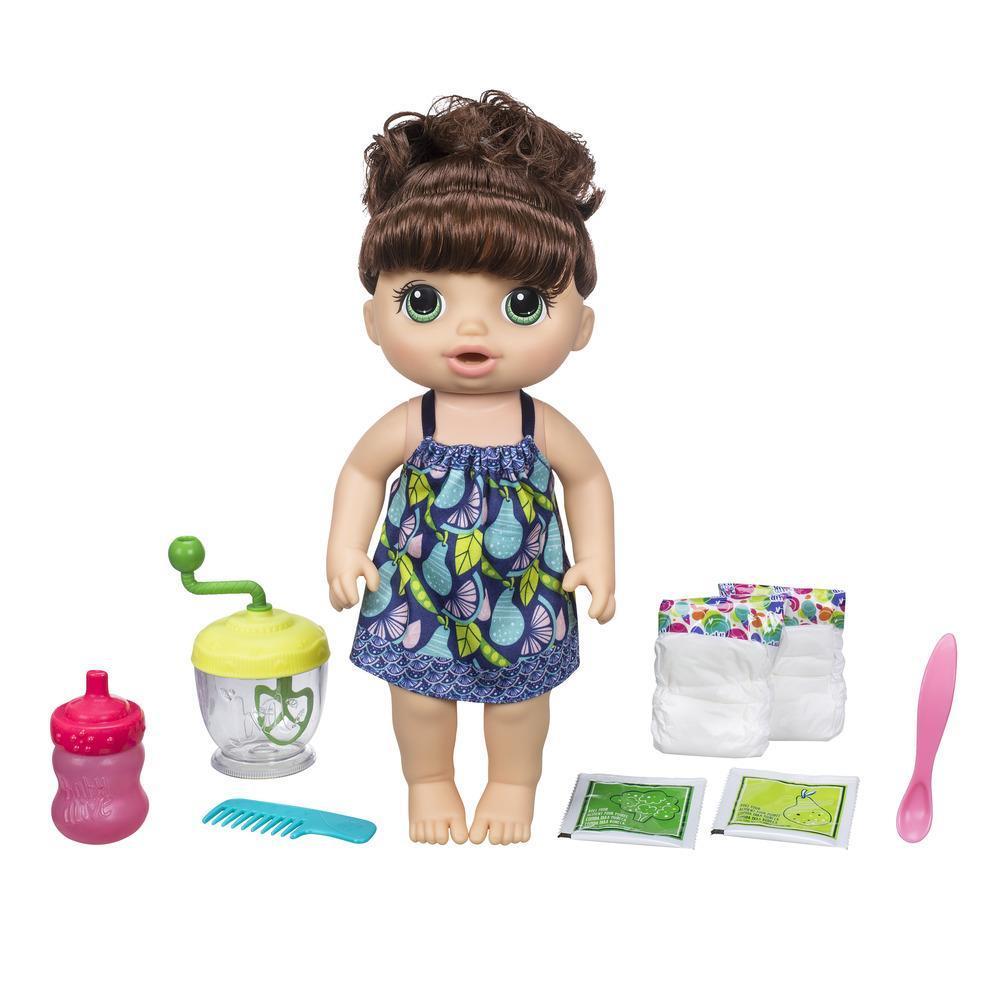 Baby Alive - Bébé Cuillerées sucrées (brunette)