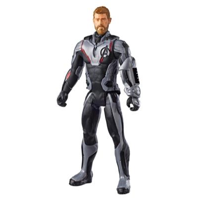 Marvel Avengers : Phase finale Titan Hero Series - Figurine jouet du superhéros Thor d'une taille de 30 cm avec port Titan Hero Power FX