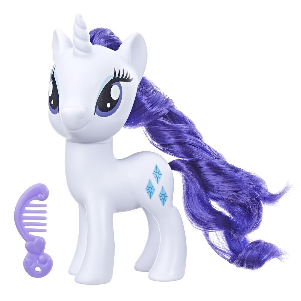 My Little Pony - Jouet Rarity - Figurine de poney blanc de 15 cm
