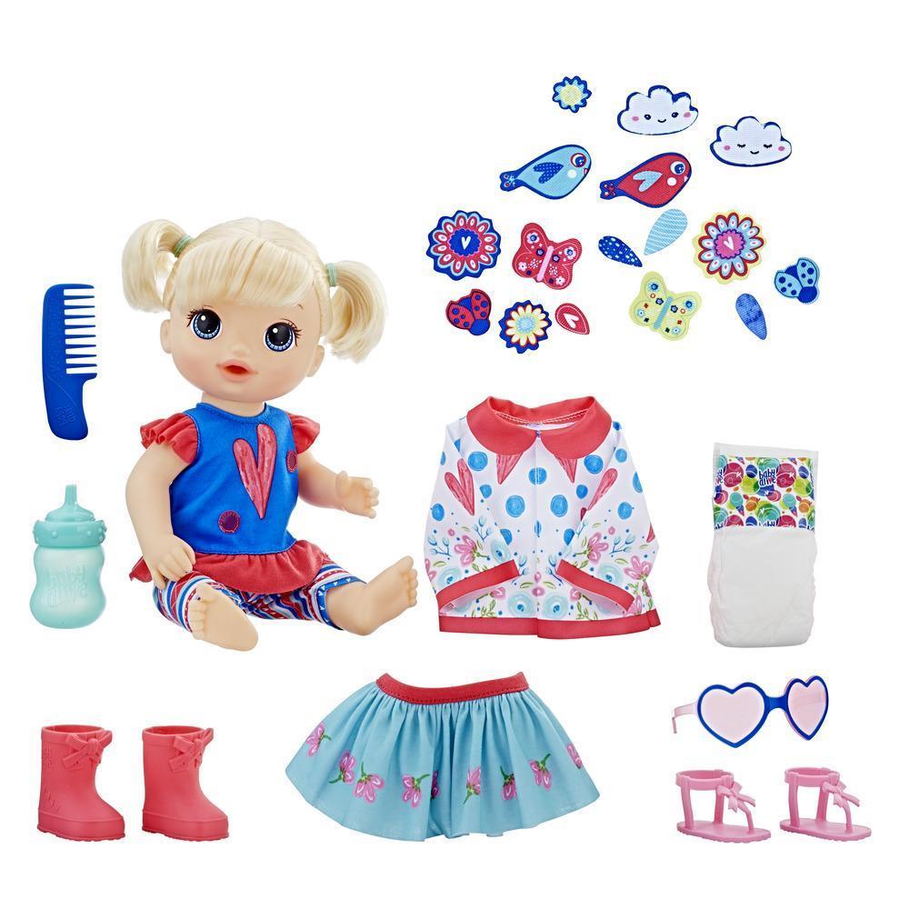 Baby Alive - Bébé à la mode (cheveux blonds droits)